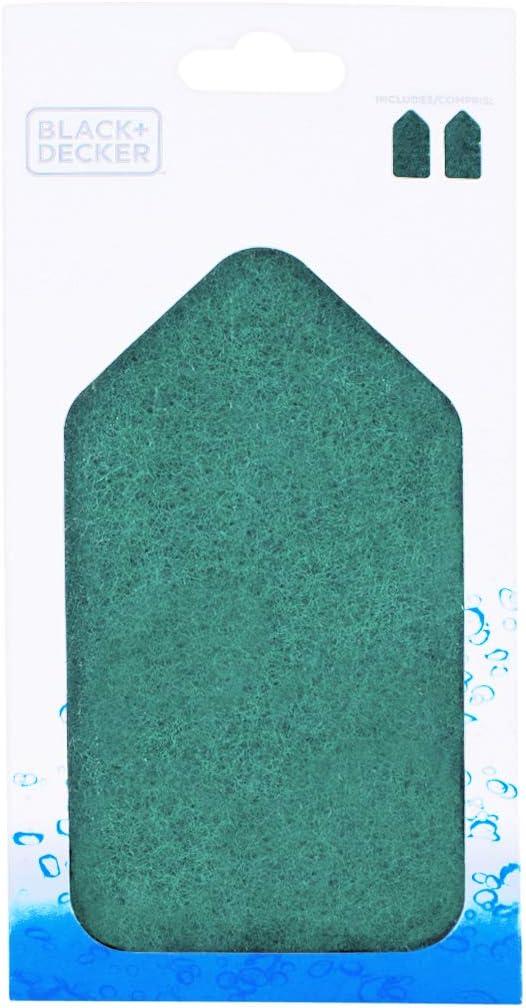 fits BHPC210 /& BHPC220 BLACK+DECKER 62009 BHPC201A BHPC200A-XJBR Scouring Replacement Pads Green