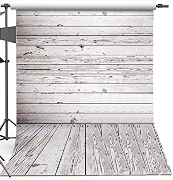 5x7ft Wooden Floor I Love You Wall Photography Background Computer-Printed Vinyl Backdrops