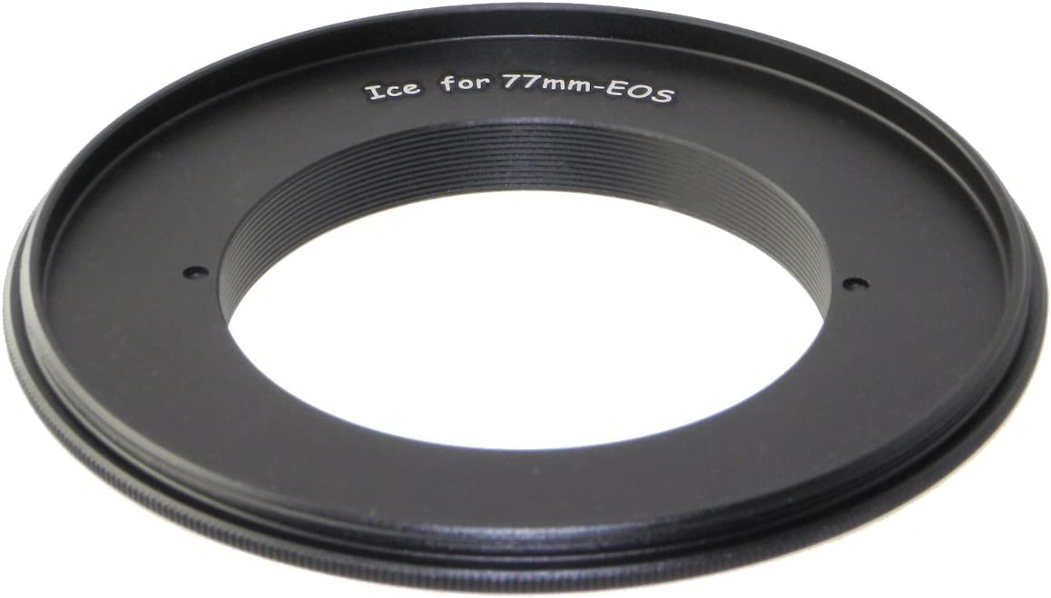 77mm Macro Lens Reverse Mount Adapter Close-Up Ring fits CANON EOS camera body