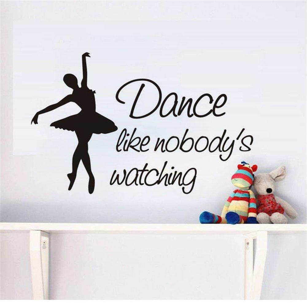 Ballet Dancer   vinyl wall decal