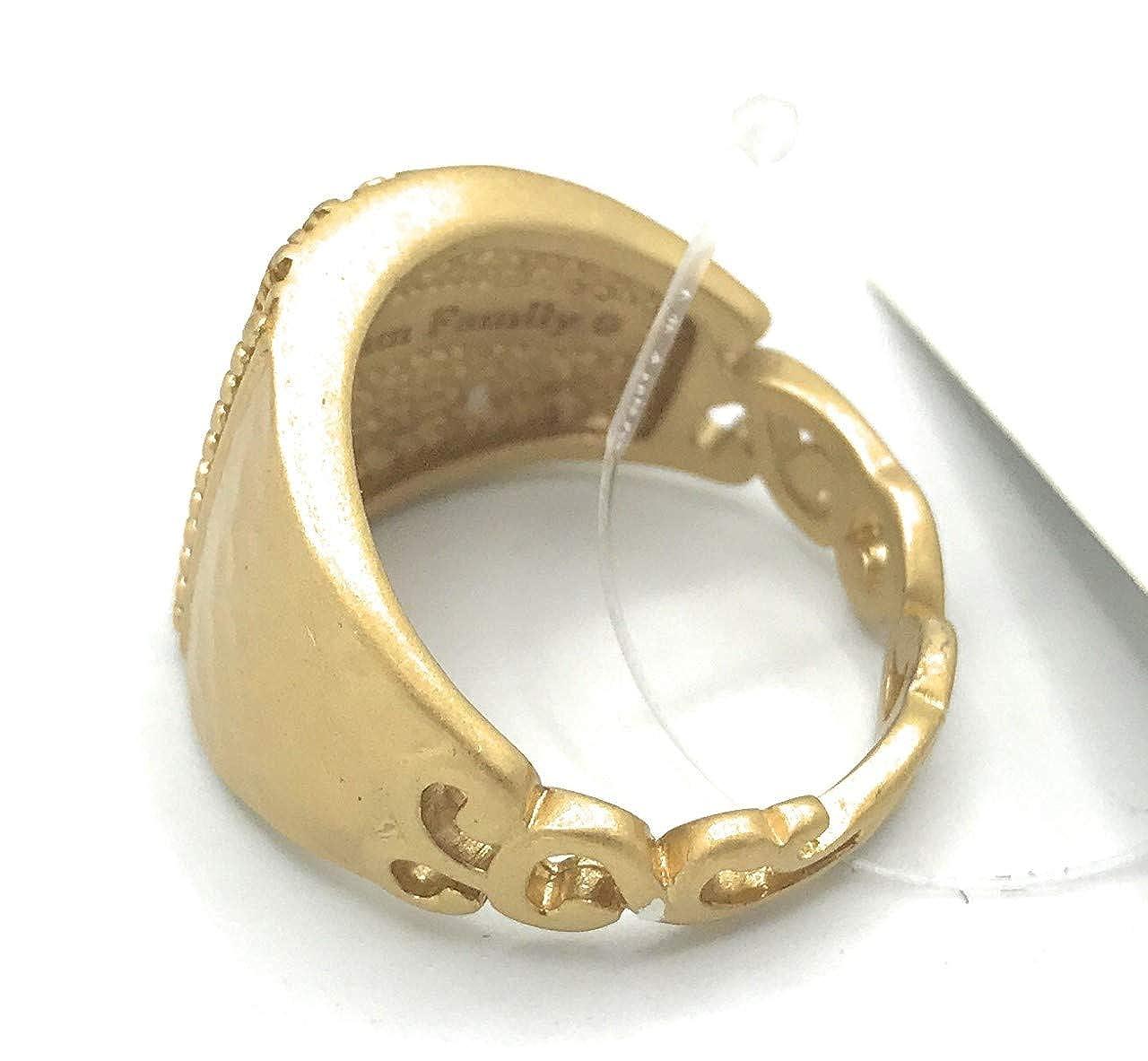 Lia Sophia Ornamental Ring Size 9