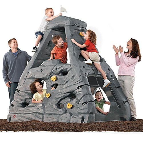Step2 Skyward Summit - Gray (Rock Playset Climbing)