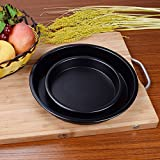 WuKong 9-Inch Pizza Pan Advanced Nonstick Carbon Steel Bakeware 2-Pieces