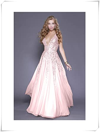 latest design classic style hot sale Chasing the dream Sequined Sling Backless Dress, Boho Dress ...