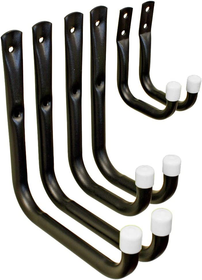 Shepherd Hardware 8088E Heavy Duty Steel Garage.  sc 1 st  Amazon.com & Garage Storage System Hooks | Amazon.com | Storage u0026 Home ...