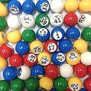 Tapp Collections™ Multi Color Plastic Bingo Ball