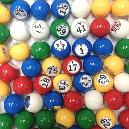 Tapp Collections™ Multi Color Plastic Bingo Ball Set