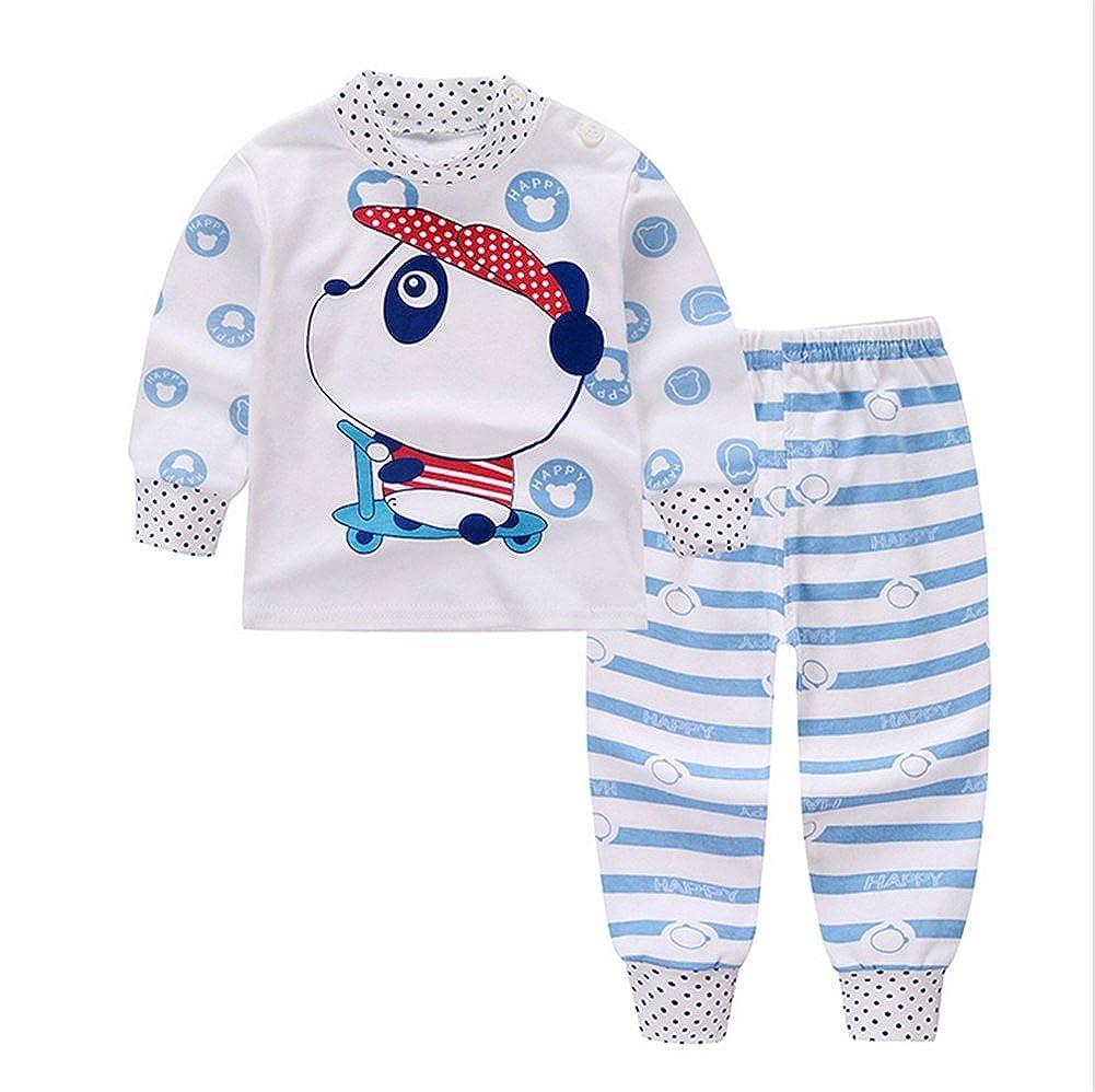 Pants JIEYA Baby Girl Boy 2PCS Outfits Set Cartoon Printed Long Sleeve Top