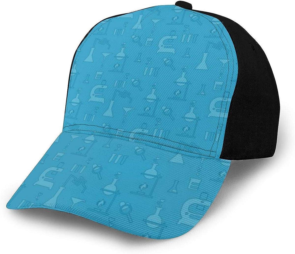 Chemical Test Blue Classic Baseball Cap Men Women Dad Hat Twill Adjustable Size