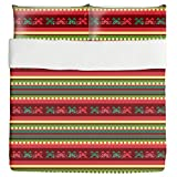 Mountain Kilim Duvet Bed Set 3 Piece Set Duvet Cover - 2 Pillow Shams - Luxury Microfiber, Soft, Breathable