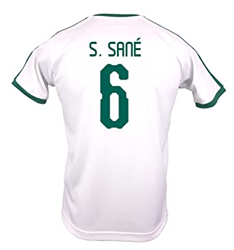 0831e4c393d PUMA S. Sane  6 Senegal Home Men s Jersey World Cup Russia 2018 ...