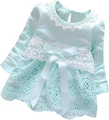 K-youth Vestidos para Niñas Bebes Ropa Bebe Niña Recien Nacido ...
