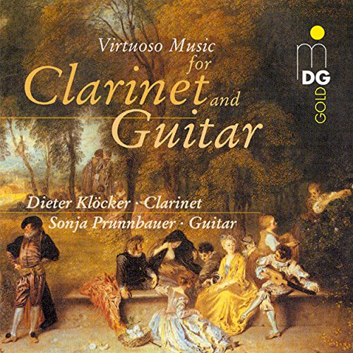 (Virtuoso Music for Clarinet and Guitar)