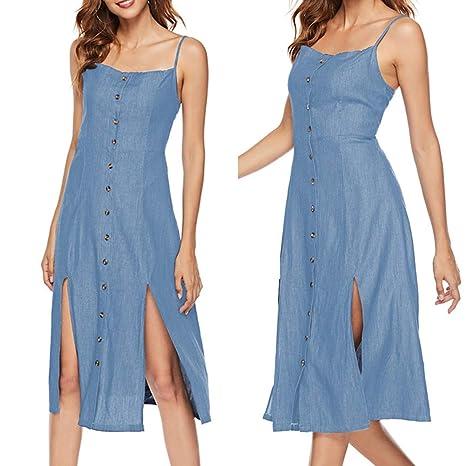 3d6728a144 Amazon.com   CHoppyWAVE Denim Dress