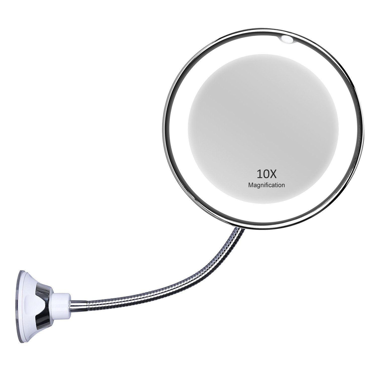 amazon com terresa led lighted makeup mirror with 10x magnif