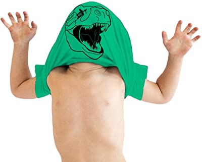 Toddler Ask Me About My Trex T Shirt Funny Cool Dinosaur Flip Humor Tee