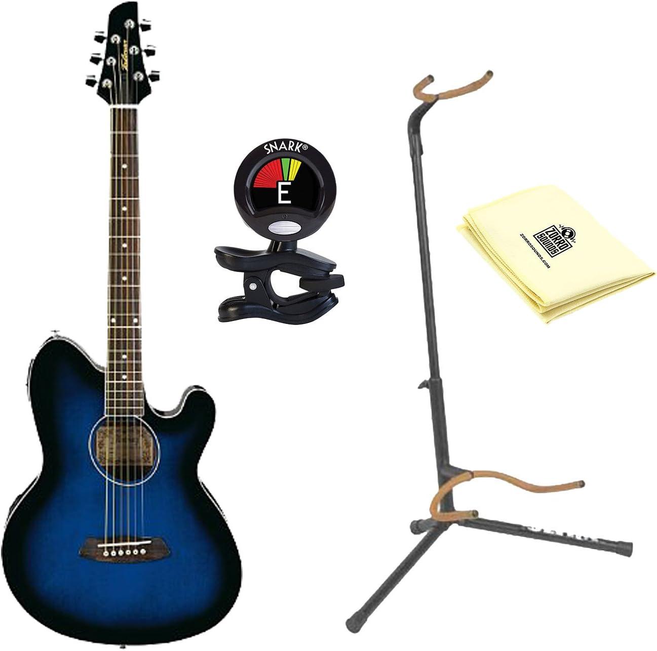 Ibanez tcy10etbs Talman Electroacústica guitarra, transparente ...