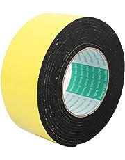 sourcingmap® Una sola cara de la espuma a prueba de choqutilizado de la cinta adhesiva de esponja de cinta de 60 mm de ancho x 4 M Longitud