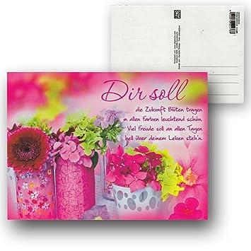 Cartolini Postkarte Karte Sprüche Zitate 15 5 X 11 5 Cm Dir