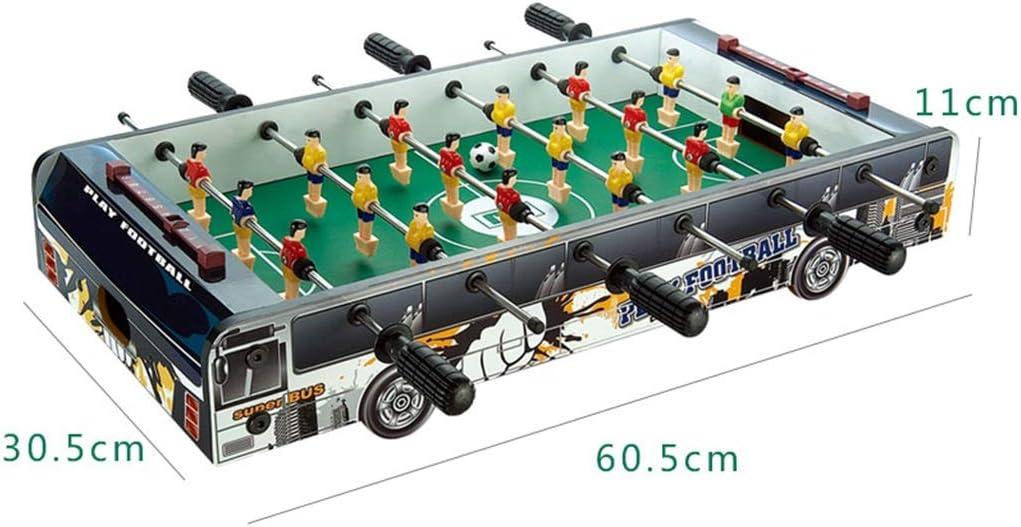 Hh001 3-10 años Mesa de fútbol de Juguete para niños Desarrollo Intelectual de Juguetes Boy Boy Máquina de fútbol de Madera Mesa de Juguete competitiva Doble Mejor Regalo para niños: Amazon.es: Juguetes
