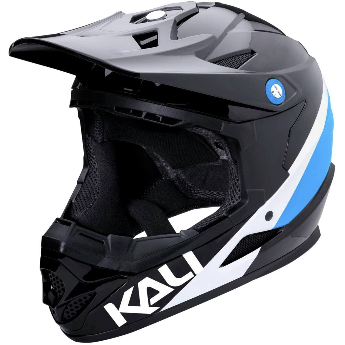 Kali Protectives 0210618128 BMX-Helm – Integralhelm Unisex Erwachsene, schwarz blau, Größe  XL