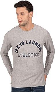 Uomo T-shirt a maniche lunghe da Tokyo Laundry 'Harper Cove'
