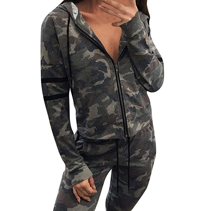Cardigan Mujer Elegante Primavera Otoño Camuflaje Manga Larga Outdoor Deportiva Chaqueta De Punto Camisas Basic Casual Moda Joven Outerwear Outwear ...