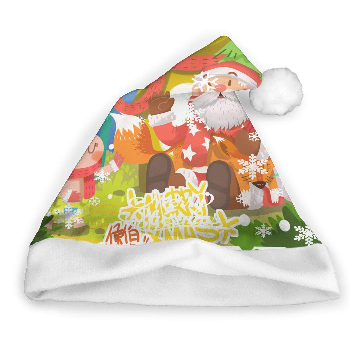 Amazon.com Cute Bear Adults Christmas Hats Santa Hat DIY