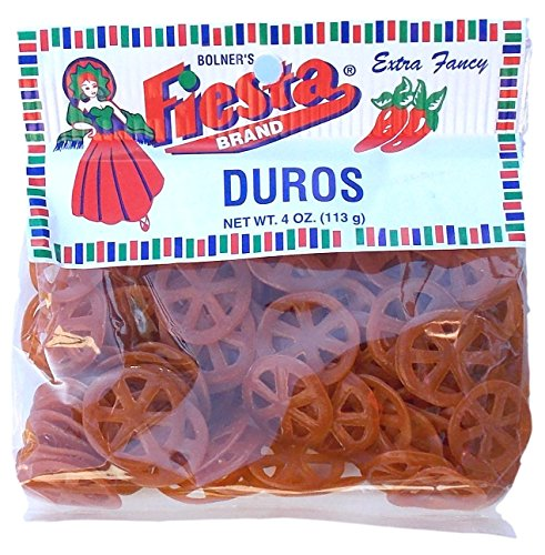 Bolner's Fiesta Extra Fancy Duros, 4 Ounces - Pack of 4