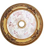 Elegant Lighting Medallion, French Gold, 35'' by 35'' by 35''