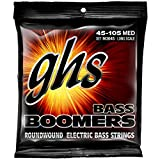 GHS Strings M3045 4-String Bass Boomers, Nickel-Plated Electric Bass Strings, Long Scale, Medium...