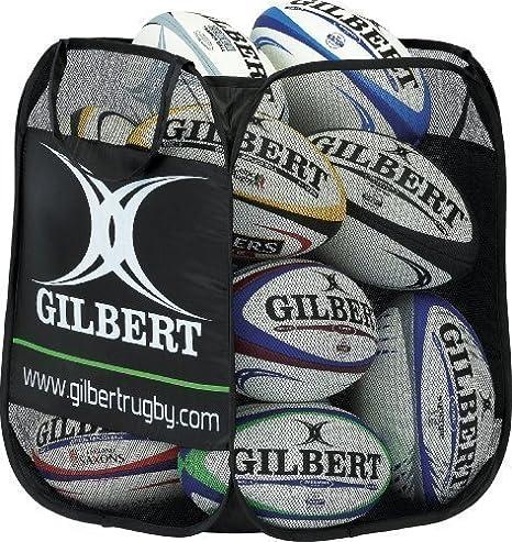 Gilbert - Bolsa plegable para 12 balones de rugby: Amazon.es ...