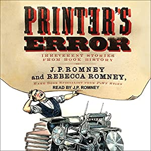 Printer's Error Audiobook