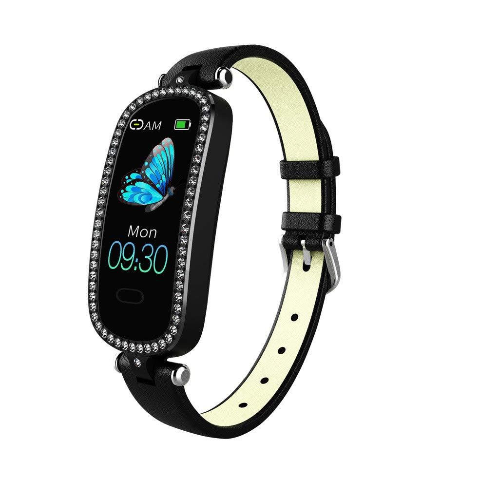 Sports Watch Men Waterproof, Yezijin Woman Heart Rate Blood Pressure Sleep Monitoring SmartWatch Pedometer Tracker for Father Men Student Youth Teens Boyfriend Lover's Birthday