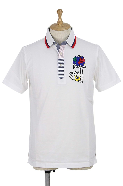 ポロシャツ メンズ カステル バジャック CASTELBAJAC ゴルフウェア 21170-115 M(46) ホワイト(01) B07S9K6NGY