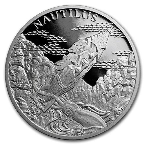 2018 CZ Niue 1 oz Silver World of Jules Verne (Submarine Nautilus) 1 OZ Brilliant Uncirculated