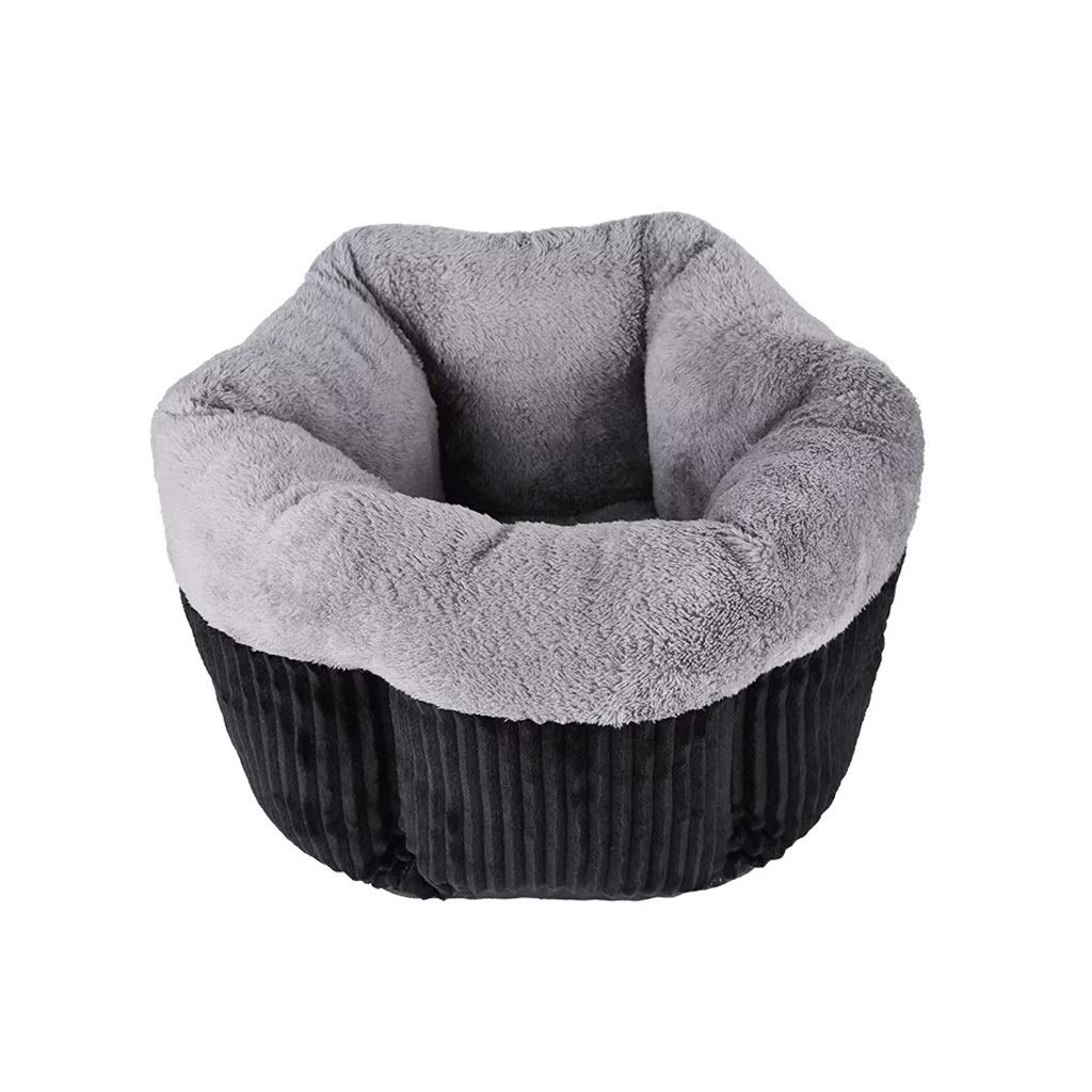 Black SCute and Cozy Cat HouseMultiple colors, Sizes, and Styles Available,Self Warming and Breathable Pet Bed Premium (color   Yellow, Size   S)