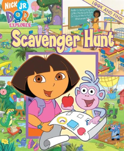 Image result for scavenger hunt dora the explorer look and find