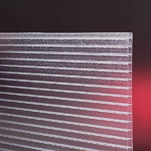 Feuille creuse de polycarbonate claire pour la serre chaude 610mm x 1500mm x 4mm