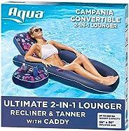 Aqua Ultra Comfort Pool Lounger, Lake Raft, Two 2-Person Lake-Ocean