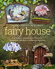 """Fairy House is a fascinating adventure into the making of miniscule kingdoms of the fairytale realm from found objects in nature. This unique how-to book offers a look at """"nature as art"""" in a more sophisticated style than most instructional b..."""