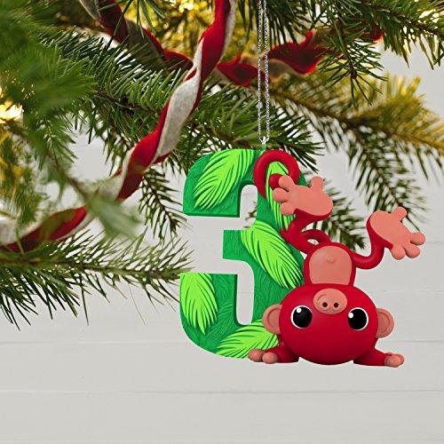 Hallmark Keepsake Christmas Ornament, Toddler I Am Three! Child's 3rd Year Age Series by Hallmark (Image #5)