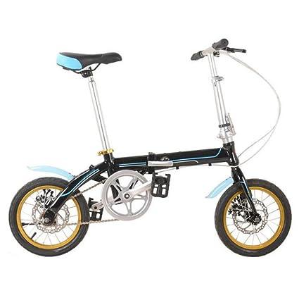 Frenos De Disco Plegables De Aleación De Aluminio De Bicicleta Plegable De 14 Pulgadas Bicicleta De