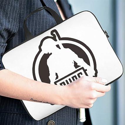 P-U-B-G Team Laptop Case Sleeve Bag Water Resistant Briefcase for Notebook//MacBook//Ultrabook//Chromebook P-U-B-G,Game,Shootout Game,Winner,Chicken Dinner White 13inch