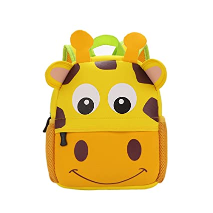 Image Unavailable. Image not available for. Color  ZHWKY Kids Baby Schoolbag  Zoo Toddler Cute Cartoon Animal Backpack for Boys Girls Shoulder Bag  Squirrel abb45f9490a47