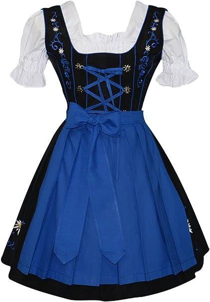 Amazon.com: Edelweiss Creek - Vestido tirolés de Oktoberfest ...