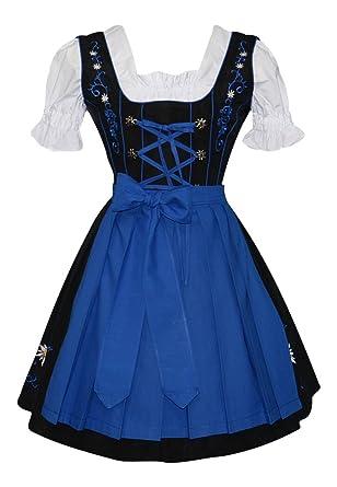 204edcfa8d364 Amazon.com  Edelweiss Creek 3-Piece German Oktoberfest Dirndl Dress ...