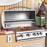 Blaze 32-Inch 4-Burner Built-In Natural Gas Grill With Rear Infrared Burner - BLZ-4-NG Blaze