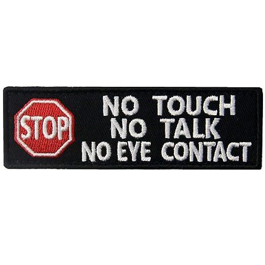 Perro de servicio No toque No hable Advertencia Chalecos/Arneses ...