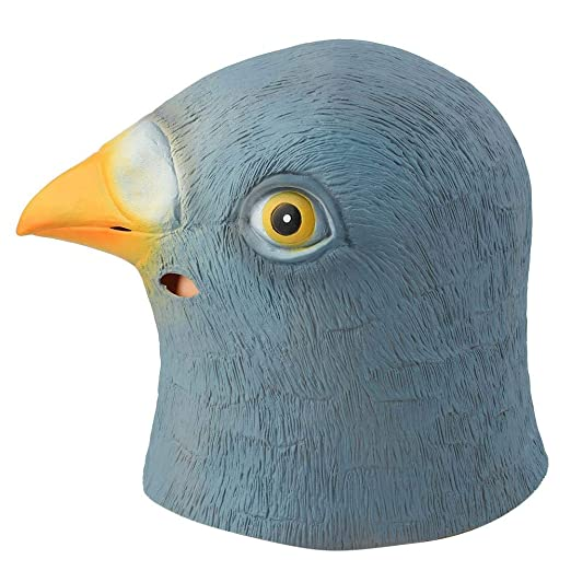 Cafopgrill Máscara de Fiesta, Máscara de Cabeza de Pájaro de ...